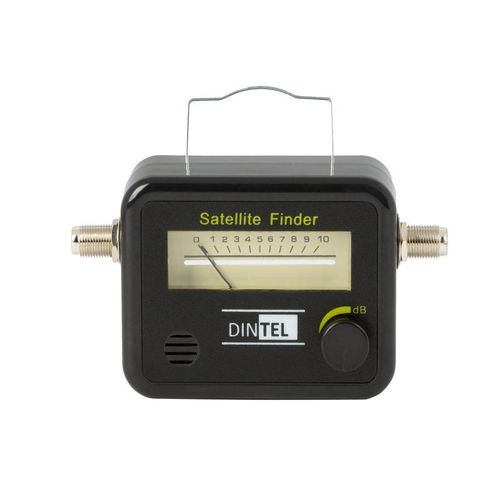 Satellite Locator with sound Dintel