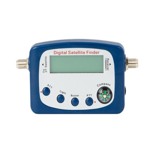 Digital satellite locator dimming Dintel