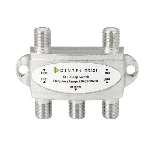 Disecq with 4 inputs and 1 output LNB